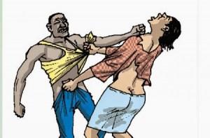 Prostitute beaten