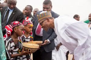 Buhari and children