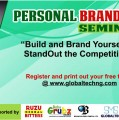 GLOBALTECH ORGANIZES A DAY FREE SEMINAR ON PERSONAL BRAND