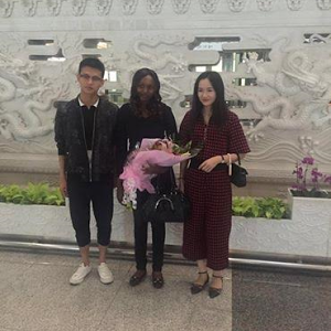 Kenyan girl who photoshopped herself into photos of tourist attraction sites arrives China to a grand reception