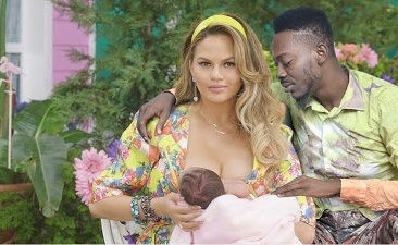 Controversial: See what Singer Adekunle Gold Did To Kim K, Chrissy & Amber Rose [Photo's]