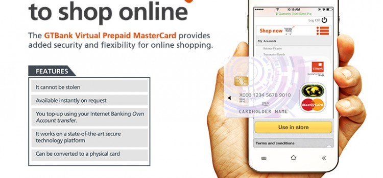 How To Create and Fund GTBank Virtual MasterCard