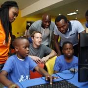 Facebook founder, Mark Zuckerberg arrived Nigeria unannounced