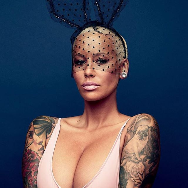 Amber Rose goes completely nude for GQ(Photos)