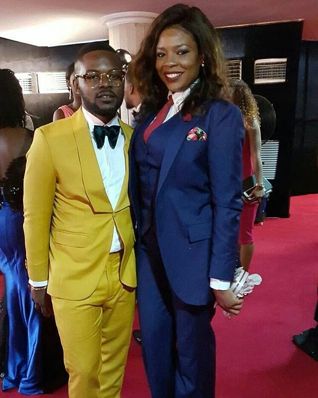 #AMVCA2016: Genevieve, Funke Akindele, Uti, Mercy Aigbe, Mr Ibu, Yemi Alade & More On Red Carpet | PHOTOS