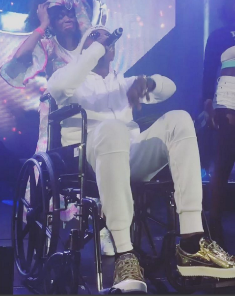 Revealed: Why Patoranking Performed in a wheel chair..