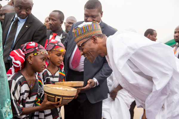 Children's Day: Buhari assures on rights to education, good health, others