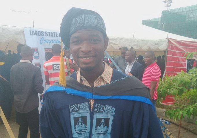 Globaltech felicitates with Kayode Olalere (an online editor) as he bags an honorary degree B.Sc in Mass Communication