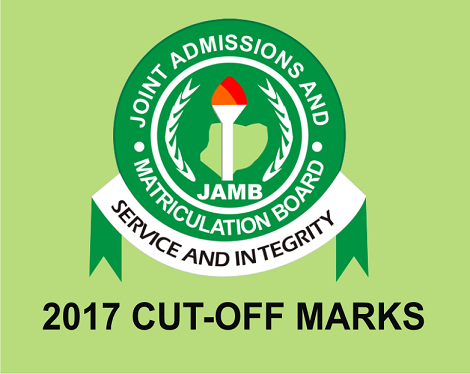 2017 JAMB Possible Cut Off Marks for Nigeria Institutions