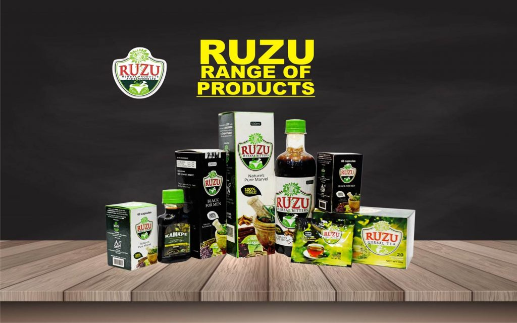 HELPING YOUR HEALTH WITH RUZU BITTERS
